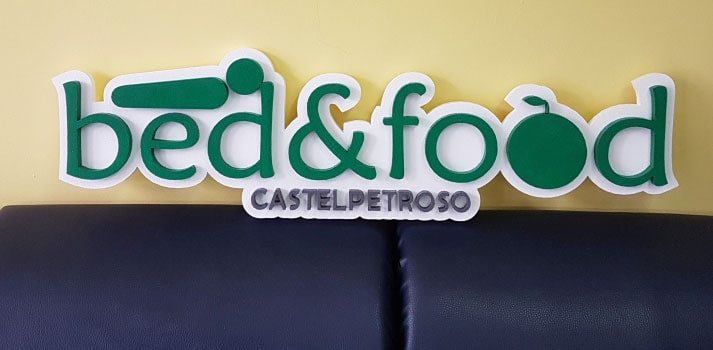 Castelpetroso logo bed food
