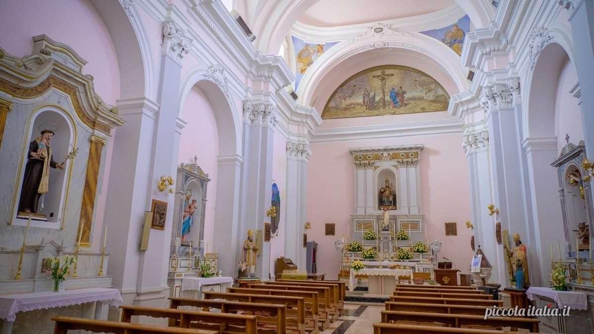La chiesa di San Pietro in Vincoli