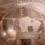 La cripta della chiesa di San Pietro in Vincoli