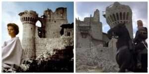 Ladyhawk a Rocca Calascio